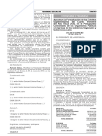 Aprueban la Formalización de los Créditos Suplementarios del Cuarto Trimestre del Año Fiscal 2015, en el Presupuesto Consolidado de los Organismos Públicos y Empresas de los Gobiernos Regionales y Gobiernos Locales