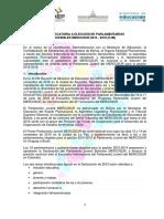 CONVOCATORIA A ELECCIÓN DE PARLAMENTARIOS  JUVENILES MERCOSUR 2016 - 2018 (PJM)