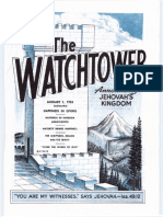 The Watchtower - 1953 issues
