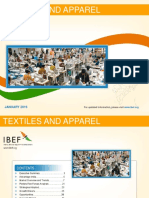 IBEF Textiles and Apparel January 2016