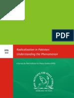 Radicalization in Pakistan Understanding the Phenomenon
