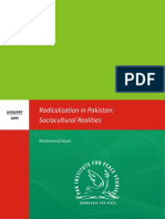 Radicalization in Pakistan Sociocultural Realities