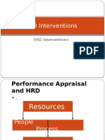 HRD Interventions