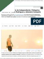 Escuchó a La Gente de Independiente Pellegrino Borrará Al Ruso Rodríguez y Debu