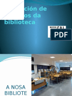 Información sobre o uso da biblioteca