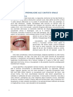 Patologie Orala-leziuni Premaligne