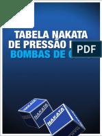 Catálogo Nakata - Tabela de Presão Para Bomba de Óleo