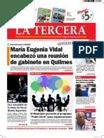 Diario La Tercera 04.03.2016