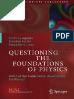 Questioning Basics of Physics