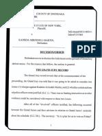 Judge dismisses charges against Kadeem Arrindell-Martin
