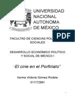 Cine mexicano en la época de Díaz