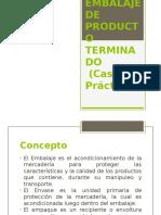 Embalaje de PT (Caso Práctico)