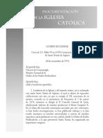 Enciclica (Lumen Eclesiae, Paulo VI )