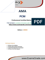 PCM Latest Certification Test