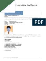 SAP BW Non Cumulative Key Figures