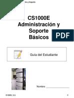 CS1000E Administración y Soporte Básicos