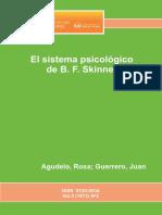 El sistema psicológico de B. F. Skinner
