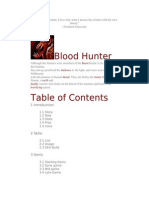 Blood Hunter Guide 1