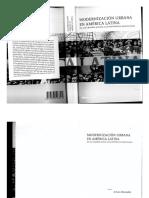 """A.almandoz, Modernización Urbana en América Latina, Cap. v - """"Desarrollismo, Funcionalismo y Planificación"""