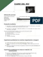 CV Silvia Cárcamo