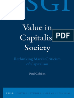 Value in Capitalist Society