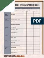 Workout Sheets(1)