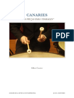 CANARIES - Elliott Carter