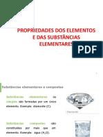 Propriedades Dos Elementos e Das Subs Elementares