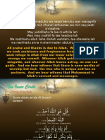 Friday Khutbah - Sincerity_280711