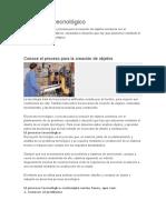 Unidad 1 El Proceso Tecnológico Primera Clase (Dictar)