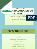 Proyecto La Basura