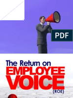 The Return on Employee Voice (ROE) by Aruosa Osemwegie