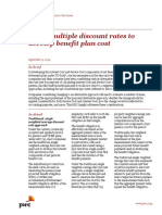 PWC Using Multiple Discount Rates Bulletin