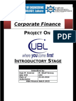 Corpaote finance project.docx