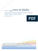 Caregivers in Idaho_Final Report 2016