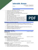 mahrukh awan-resume