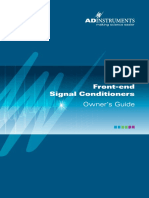 Front-End Signal Conditioners OG