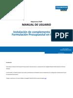 Manual Instalacion Complemento XUL