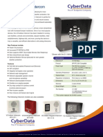 Datasheet V3 Outdoor Intercom