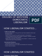 origins of western democratic liberalism