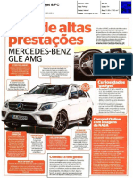 "Mercedes-Benz GLE AMG na revista ""Gadget & PC"""