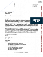Ridge Development Letter