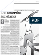Los Acuerdos Societarios - Nelson Ramirez