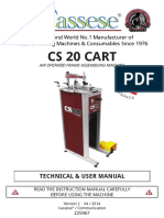 Cassese CS20 Manual