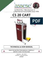 Cassese CS20 Manual