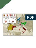 Charles I Territories