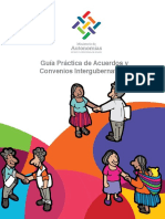Guía de Acuerdo y Convenios Intergubernativos