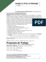 1- Tema 1. Estadística i 2014 Gen-bio