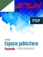Espacios publicitarios disponibles en edición 105 Especial de Innovación