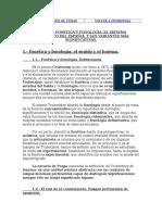 TEMA 11.- FONÉTICA Y FONOLOGÍA. EL SISTEMA FONOLÓGICO DEL ESPAÑOL Y SUS VARIANTES MÁS SIGNIFICATIVAS.